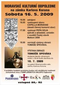 moravske kulturni odpoledne plakat